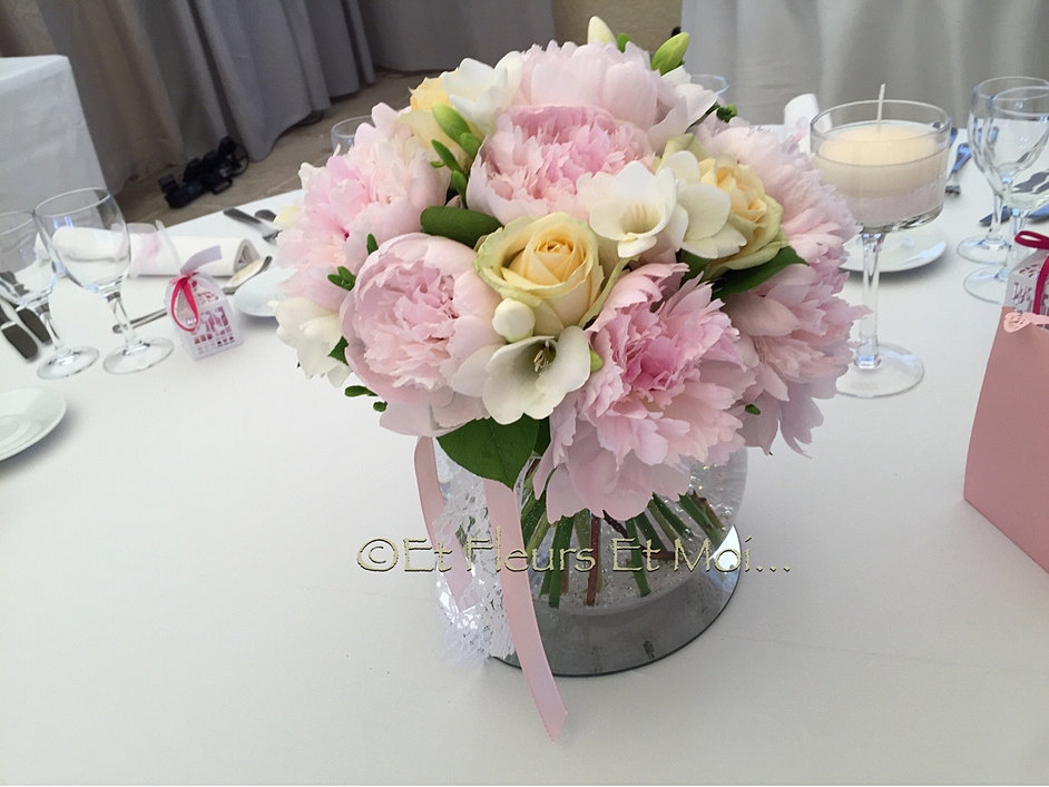 Très Fleuriste à Nice, Décoration florale de mariage, bouquets de mariées VP87