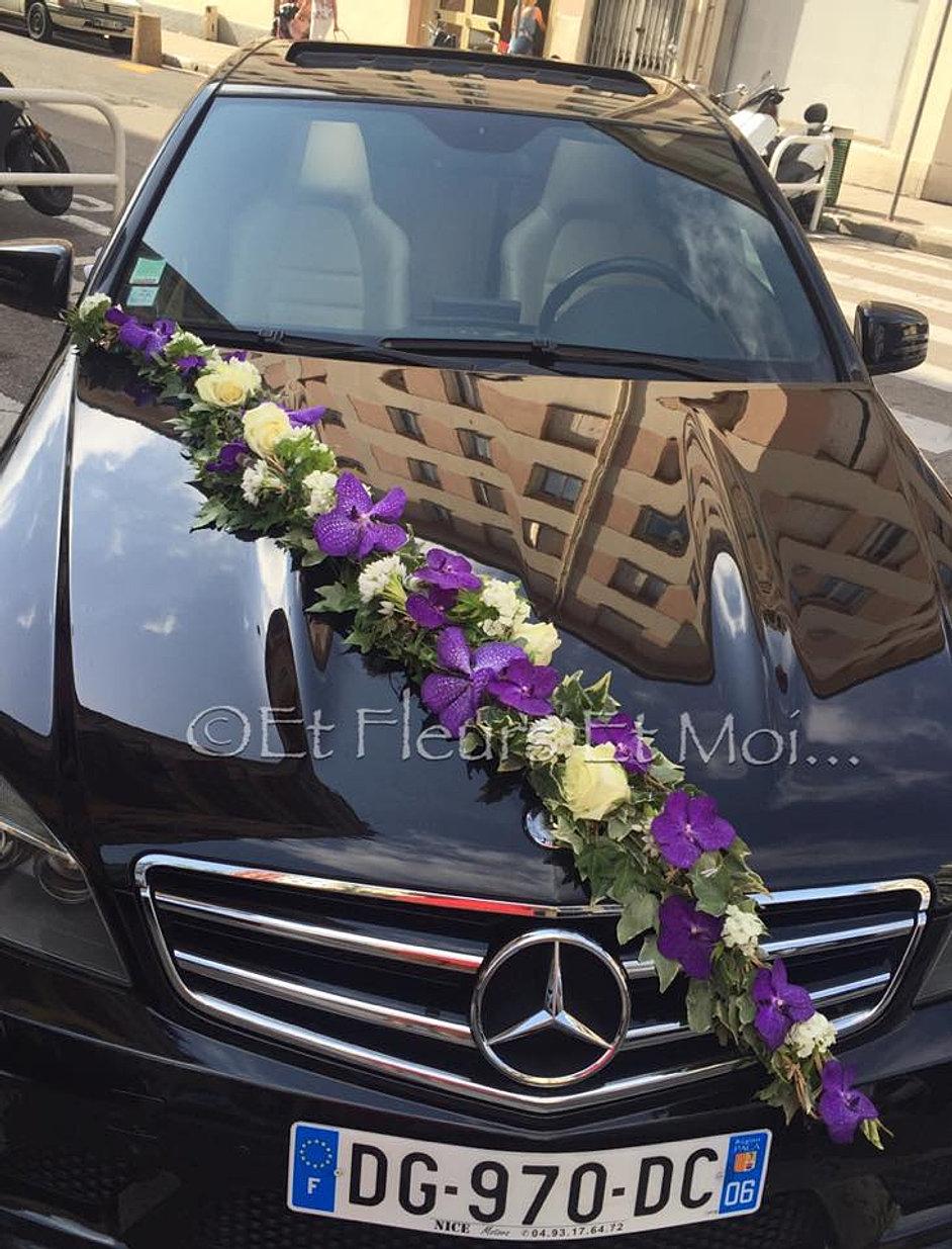 Decoration voiture mariage 2017 - Decoration voiture de mariee ...
