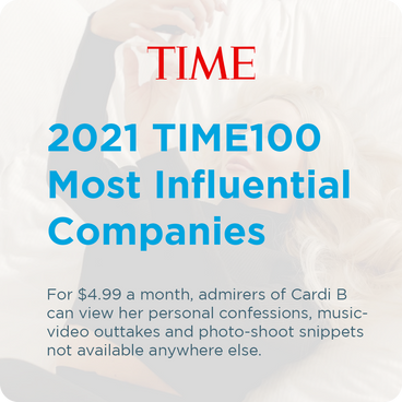 TIME - 2021 TIME100 Most Influential Companies