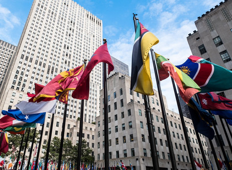 Design The Rockefeller Flags