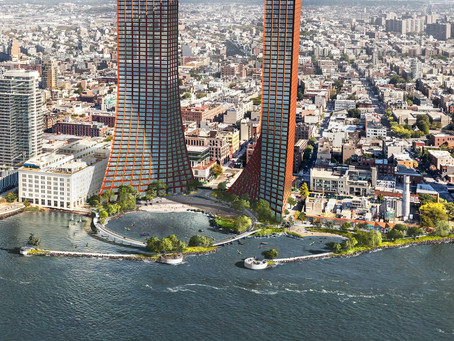 Apartment Towers And Public Beach Planned For Williamsburg
