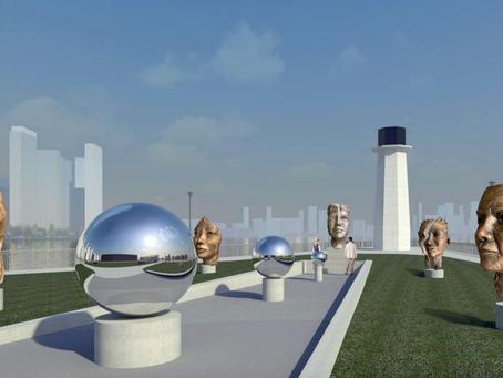 REVEALED:Roosevelt Island's Nellie Bly Memorial