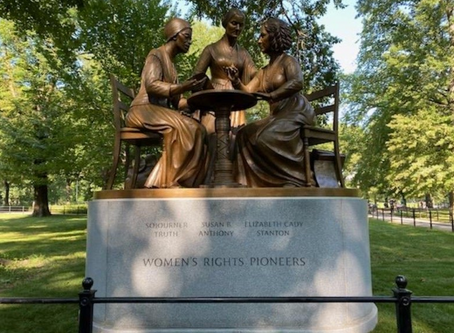 Revealed: Central Park's First Statue of Historical Women