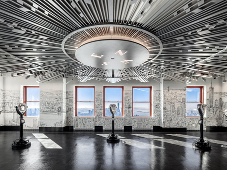 Empire State Building Opens 80th-Floor Observatory