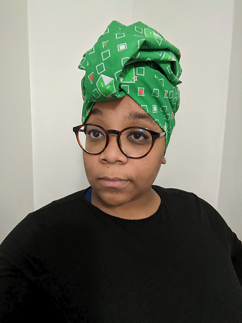 Slyther Into this Headwrap - Small Print