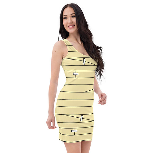 Wounded Dress - beige