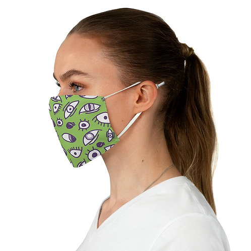 All Eyes on this Face Mask - Green