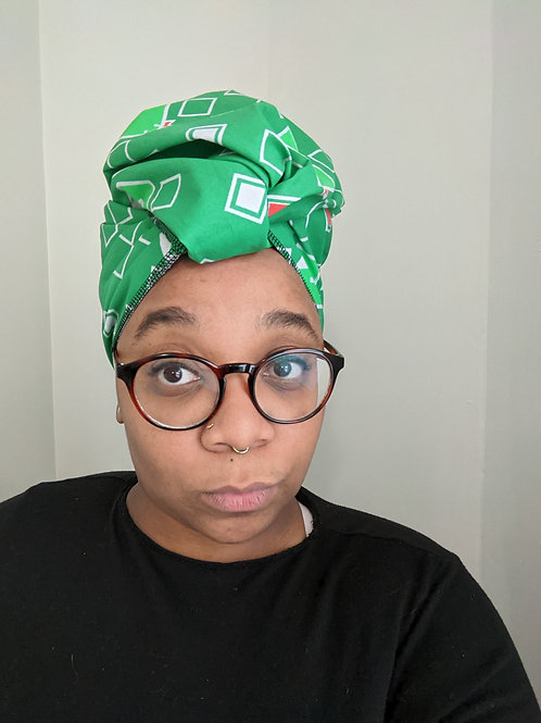 Slyther Into this Headwrap - Large Print