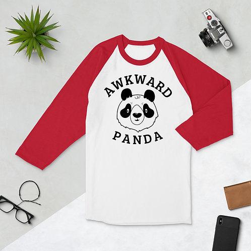 Awkward Panda Raglan Shirt