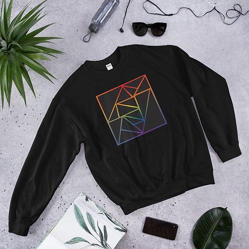 Fractured Rainbow Sweatshirt