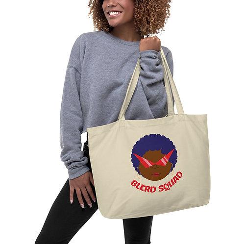 Blerd Squad large tote bag