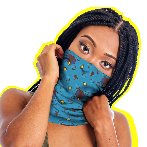 Rave N Clawing for this Neck Gaiter