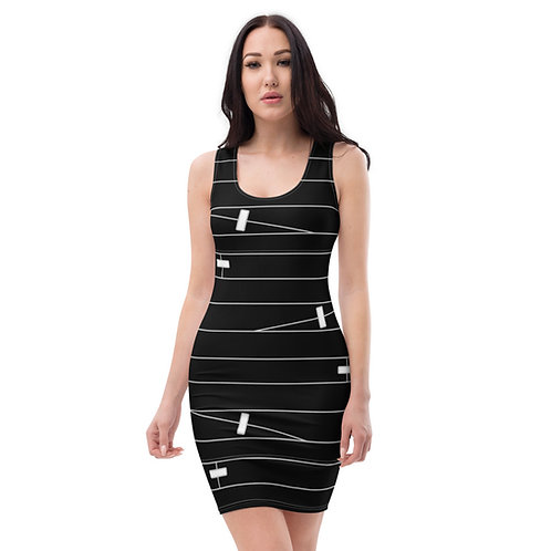 Wounded Dress - black