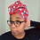 Thumbnail: All Eyes on Me Headwrap - Red