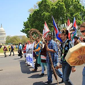 Cowboy Indian Alliance, Protest Washington DC