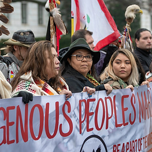 Indigenous People's March, Washington DC