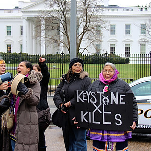 Keystone XL Protest at White House