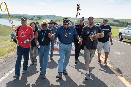 Dennis Banks at Standing Rock 2
