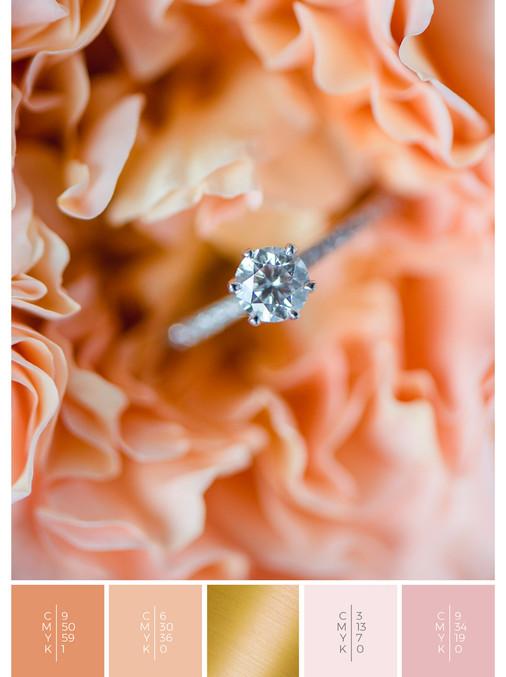 Unique and romantic wedding ring