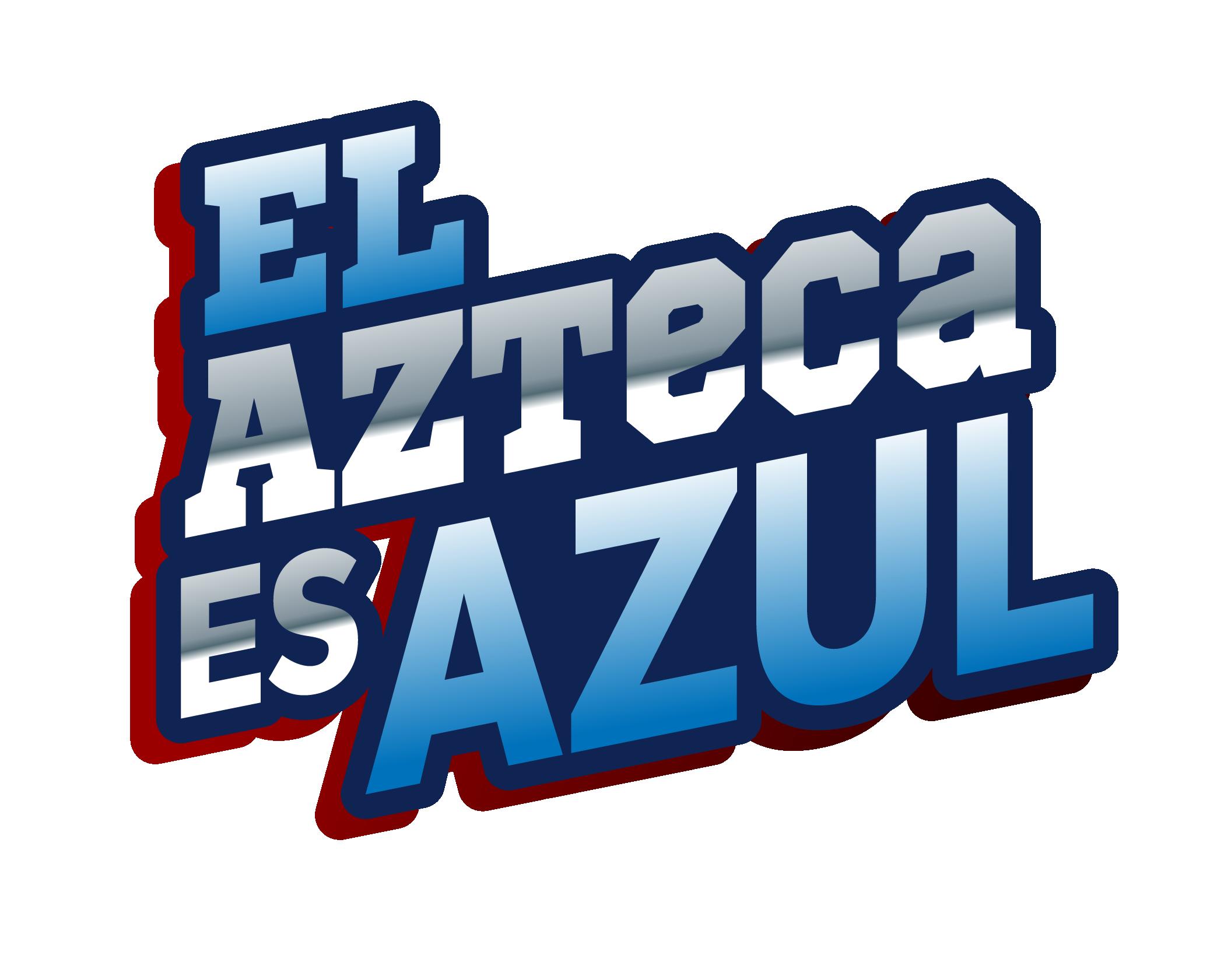 EL AZTECA ES AZUL