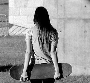 Skater Gehen