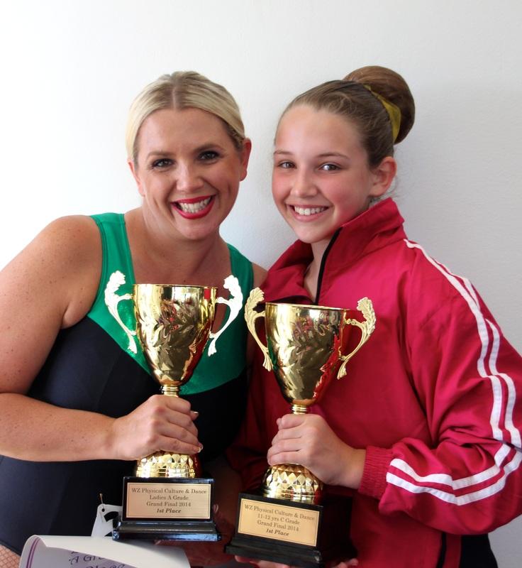 Mother & daughter winners