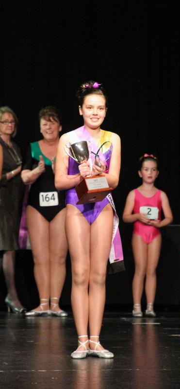 Kristina Grzetic - Junior Champion