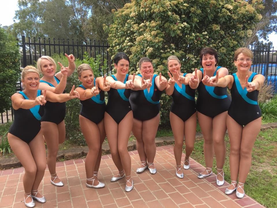 Ladies team - 1st place