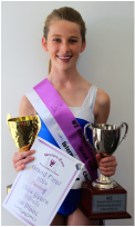 Rachelle Cain- Intermediate Champion
