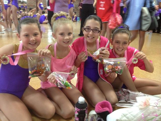 Junior champion girl competitions