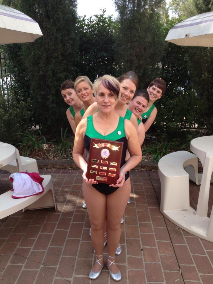 Ladies team winners!