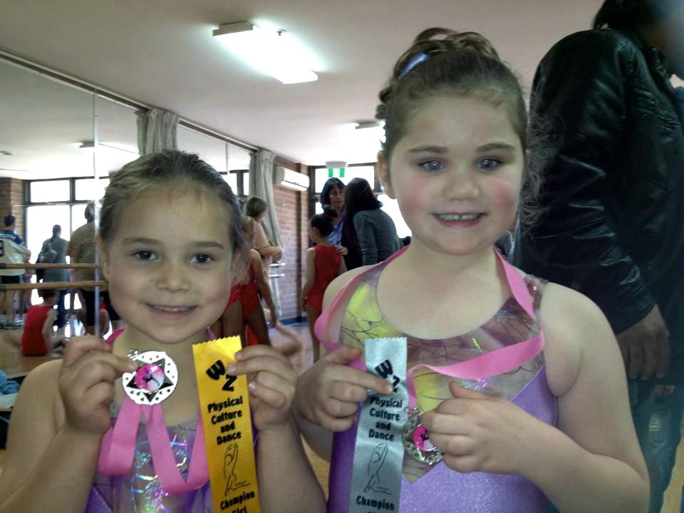 Junior champion girl competion