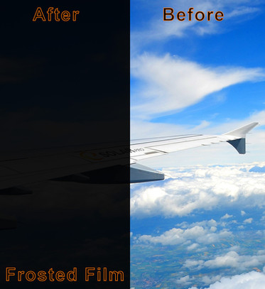 Frosted Film (After & Before)