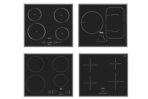 Mixed Induction Hobs  | 3dmodel