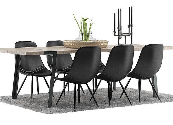 Gigant Dining Furnitures Set | 3dmodel