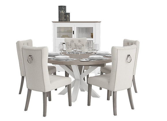 Chateaux Series Dining Furniture Set | 3dmodel