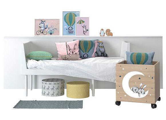 Kids bed setup 01 | 3dmodel