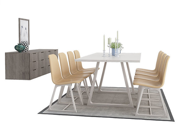 Dining Furnitures Set 08 | 3dmodel