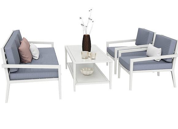 Biarritz Outdoor Garden Furnitures Set | 3dmodel