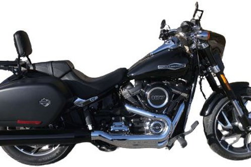 SPORT GLIDE Chrome - Tip Compatible Exhaust Pipes