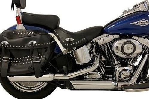 '07 - '17 SOFTAIL Chrome Tip Compatible Exhaust Pipes
