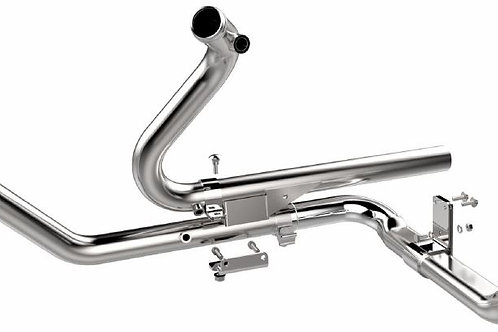 Black or Chrome 2-into-2 Exhaust Head Pipes '93 to 2016
