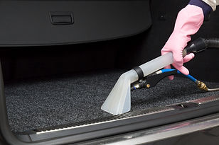 Cars luggage carrier chemical cleaning w