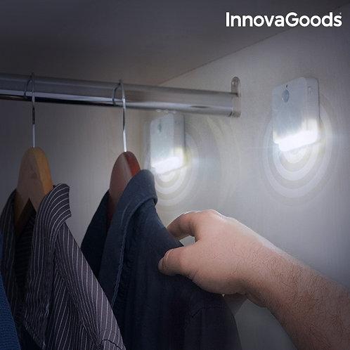 InnovaGoods LED šviesa su judesio davikliu (2 vienetai)