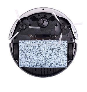 Robotas dulkių siurblys K6L vaizdas iš apačios