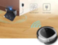 Robotas dulkių siurblys D6009