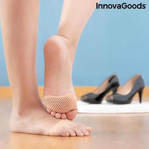 Silikoninės gelio pagalvėlės pėdoms SilStep InnovaGoods (2 vnt.)