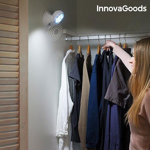 LED šviestuvas su judesio davikliu InnovaGoods