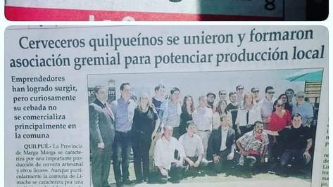 Asociación Gremial de Cerveceros Artesanales de Quilpué 2018