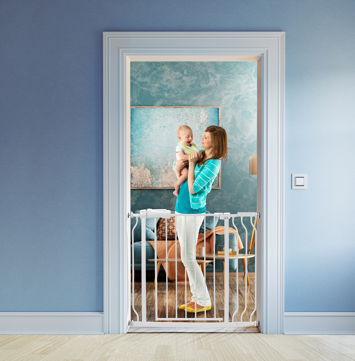 Baby safety door gates